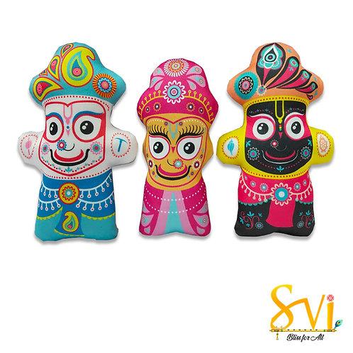 Jagannath Baldev & Subhdra Doll Deities