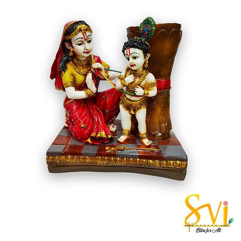 Damodar Lila at Lord Krishna Childhood