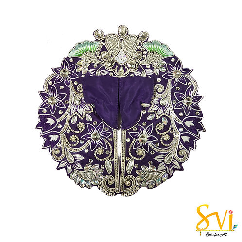 Laddoo Gopal Outfit (Silver Combination)