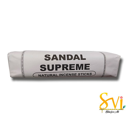 Sandal Supreme (Natural Incense Sticks) Net Weight 250 gms.