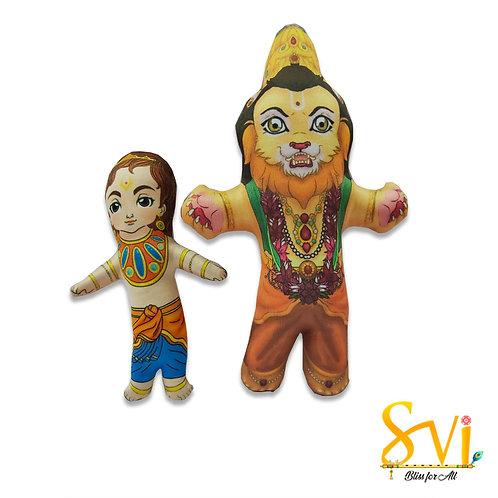 Narsimha & Prahlad Doll Deities