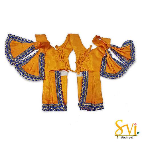 Gaura Nitai Outfit (Bagalbandi Kurta) 4 Inch Dhoti Size