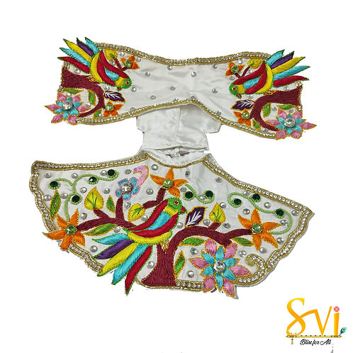 Radha Krishna Outfit (Flying Bird)
