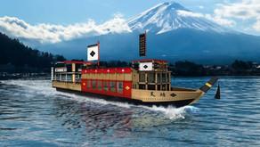 2021/2/2 富士山河口湖遊覽船「天晴號」🚢