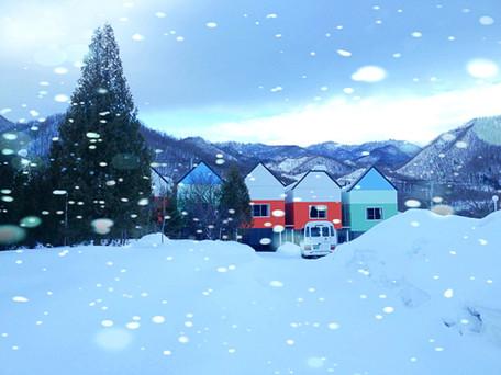 金湯亭浪漫雪景
