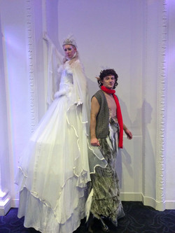 Mr Tumnus and The Crystal Queen