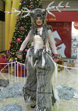 Rufus The Reindeer Bouncy stilts