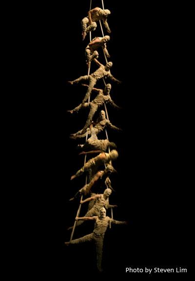 Tutenkha-Whom? - aerial straps act