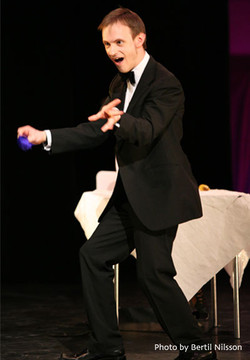 The Stupendous Crapini - magic act