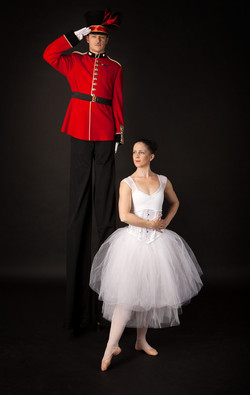 Soldier and Ballerina walkabout