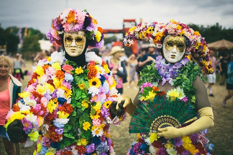 The Blooms Living statues