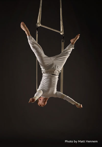 Escape - comedy aerial strapeze act