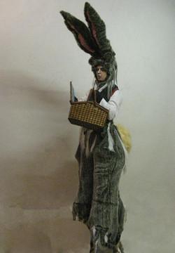 Jasper Carrot Bouncy stilt character