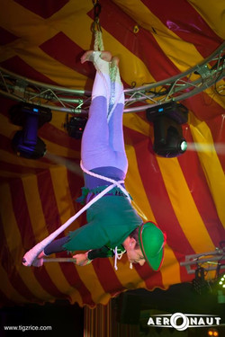 Robin Hood - aerial trapeze act