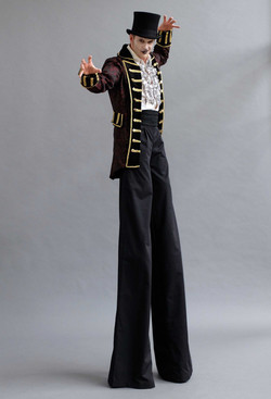 Dark Circus Ringmaster Stilts