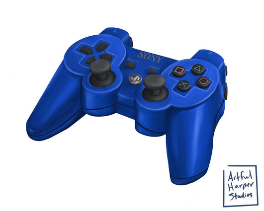 Object Study - PS4 Controlelr