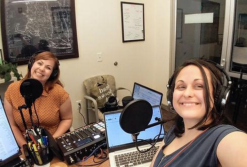 Laura Harper Lake and Sarah Wrightsman Recording Creative Guts