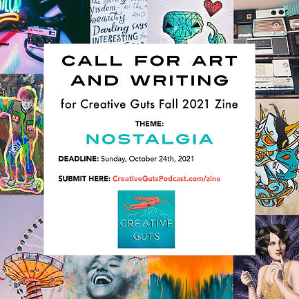 Call For Art and Writing for Fall 2021 Zine