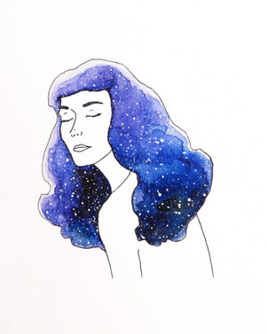 Galaxy Girl Betty
