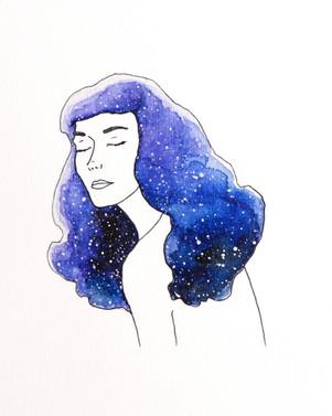 Galaxy Girl Betty