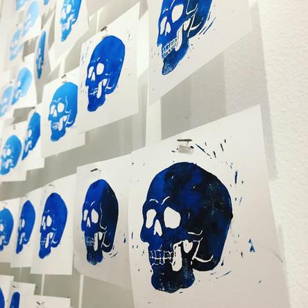 Fluttering Skulls Instillation
