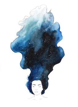 Galaxy Girl Sanya