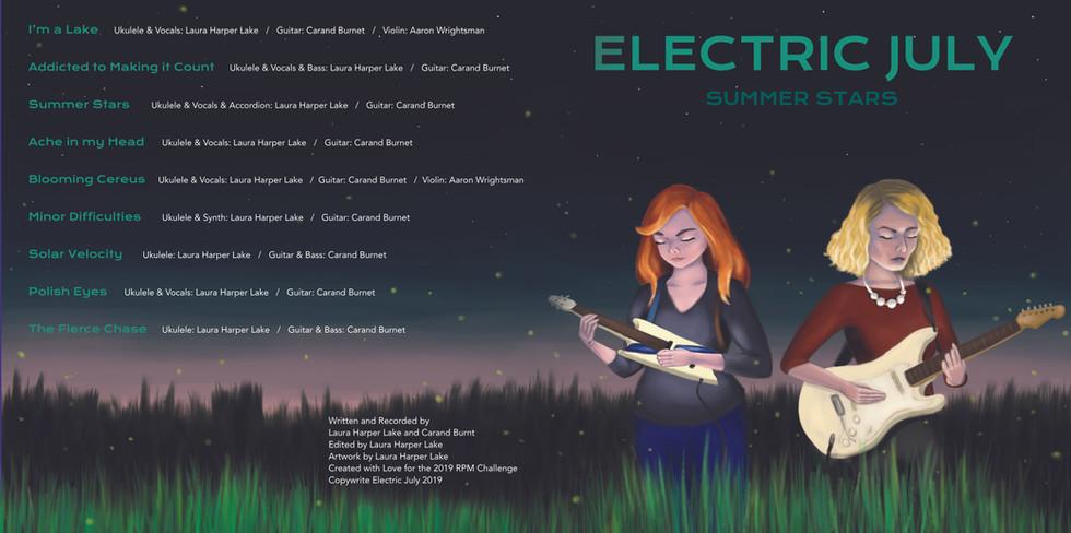 Electric July Album Artwork