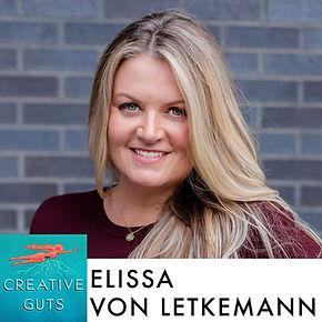 Headshot photo of graphic designer Elissa Von Letkemann