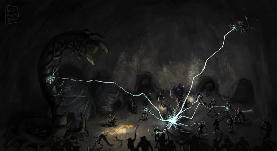 Concept Art - The Dark Battle