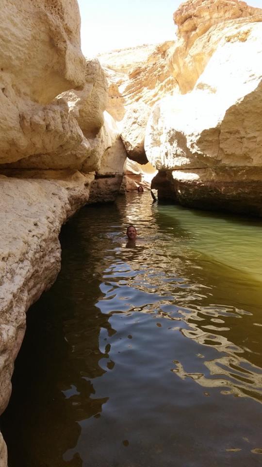 המדבר טומן בחובו מקור מים חיים
