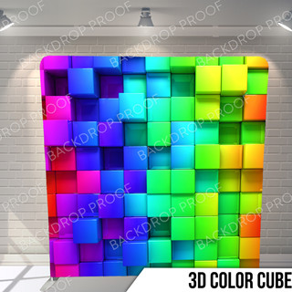 3D Color Cubes