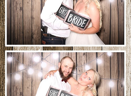 Kelcie & David - Parker, CO Photo Booth Rental