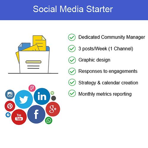 Social Media Starter