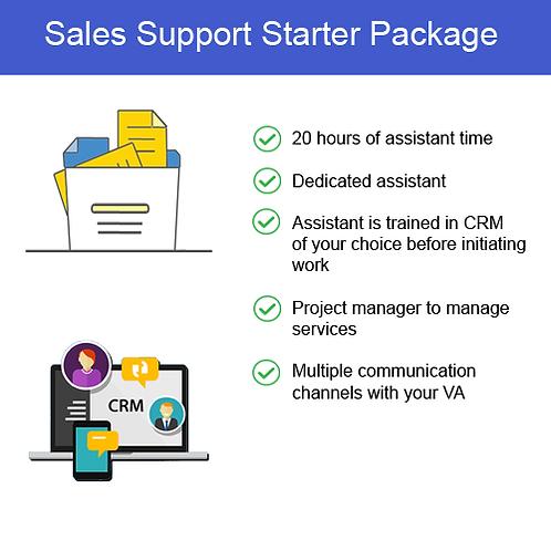 Sales Support Starter
