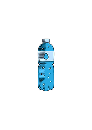 recyclable bottle