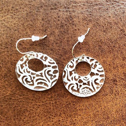 """1 1/2"""" acrylic earrings"""