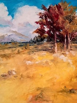 04 Respirando otoño - Oleo sobre tela