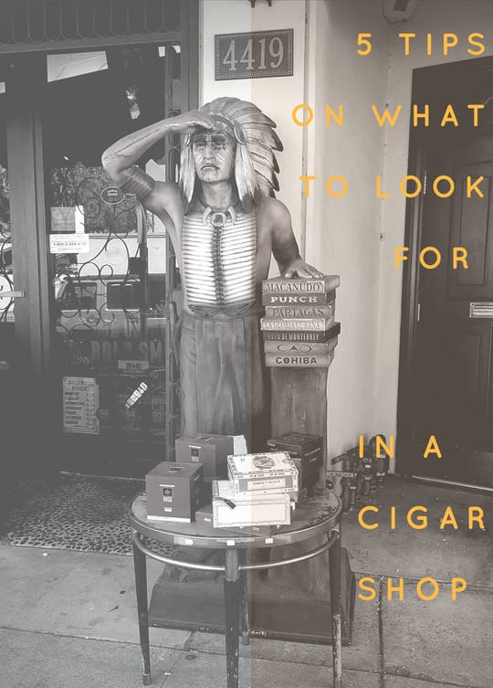 5 Tips in What To Look For In a Cigar Shop