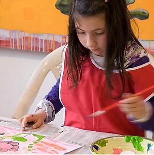 taller niños curso arte espacio fanbu