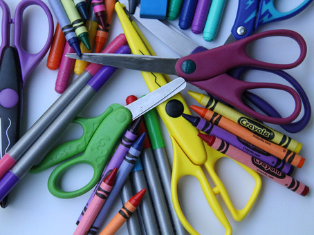 Back-To-School Shopping-Classroom Supplies