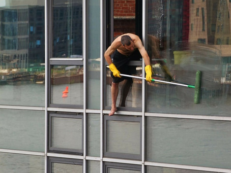SPRING CLEANING-WINDOWS!