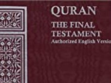 FREE GLORIOUS QURAN WITH  PURCHASE OVER $14