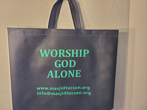"GROCERY BAG AS GIFT TO SPREAD THE ""MESSAGE"""