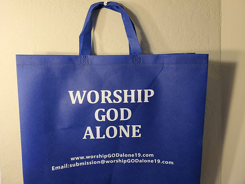 """GROCERY BAG AS GIFT TO SPREAD The """"MESSAGE"""""""