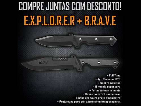 Explorer + Brave - Compre Juntas com Desconto