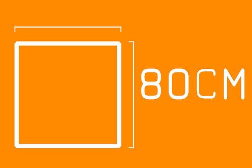 Impressão PhotoMatt 80cm por 80cm