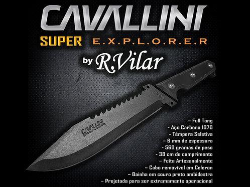 Faca Cavallini SUPER-EXPLORER de Sobrevivência