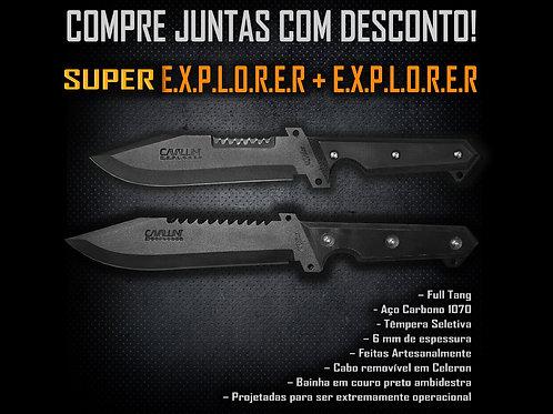 Super Explorer + Explorer - Compre Juntas com Desconto
