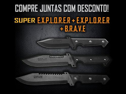 SuperExplorer + Explorer + Brave - Compre as Três com Desconto