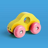coche de madera